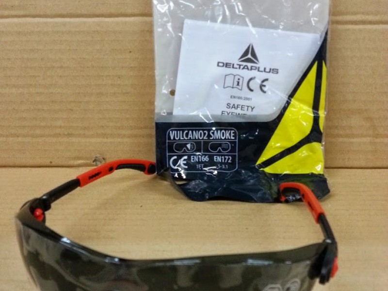 Delta Plus-VULCANO2 Smoke eyewear 安全眼鏡