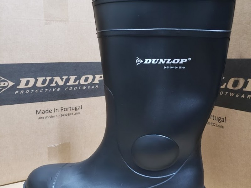 Dunlop 142PP Safety Rain Boots 全水鞋安