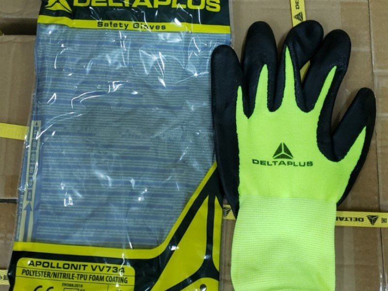 Delta Plus VV734 anti slip gloves 防滑手套